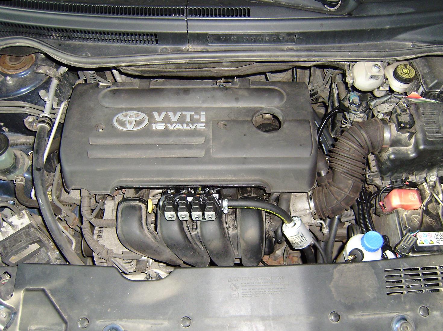 Toyota Королла на газу
